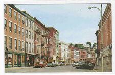 Main Street Cars Galena Illinois postcard