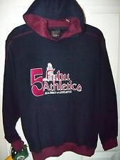 Fubu Athletics Navy Blue Hoodie Jacket Boys Size 12 / 14 MSRP $48.00 NWT