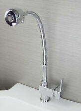 Simple Bathroom Kitchen Sink Swivel Faucet Taps Basin Single Handle