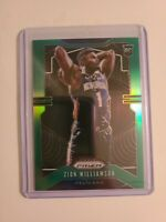 2019-20 Panini Green Prizm #248 Zion Williamson RC Rookie Fresh Pull 🔥📈