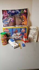 Vintage The Real Ghostbusters Play-Doh Set Kenner 1987 complete accessories