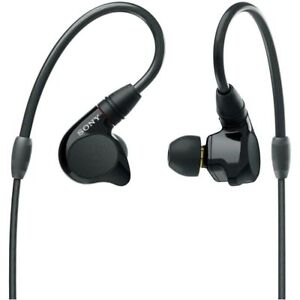 Sony IER-M7 Hi-Res Quad Balanced Armature Driver In-Ear Monitor Headphones NEW