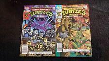 1990 ARCHIE COMICS TEENAGE MUTANT NINJA TURTLES THE MOVIE SUMMER 90 & 91 VG