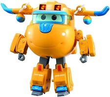 Super Wings Character Deluxe Transforming Supercharged Donnie