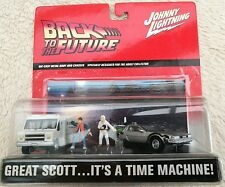 Back to the Future. Johnny Lightning Boxed. BTTF. Delorean. Doc Brown Van.