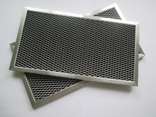 2  Filters Samsung DE63-30016A Microwave Charcoal Filter 6 1/8 x 11 x 3/8 in