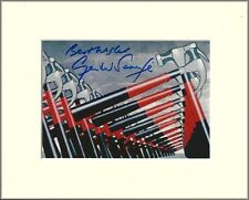 GERALD SCARFE PINK FLOYD THE WALL PP 8x10 MOUNTED SIGNED AUTOGRAPH PHOTO