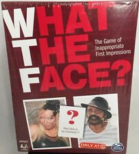 New What The Face? The Game of Inappropriate First Impressions Spin Master