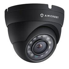 Amcrest 1080P True HD Weatherproof IP66 Black Dome Camera for 1080P DVR System