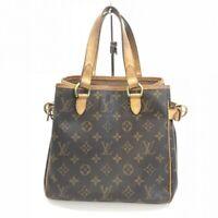 Louis Vuitton Monogram Canvas Batignolles M51156 Women's Hand Tote Bag Used