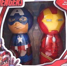 Boys Marvel Comics Avengers Captain America & Iron Man Body Wash 2 Piece Set NWT