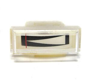 Einbau-Zeiger-Instrument, 14 x 35 mm, 130 µA, Abstimm-Anzeige / Tuner Feldstärke