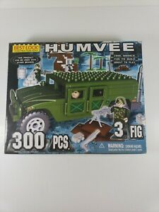 Best-Lock Construction Toys Humvee 300 pieces