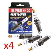 4x Bougie d'allumage BRISK Silver lr15ys-9 1464 pour les véhicules LPG GPL
