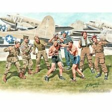 Master Box 35150 Friendly Boxing British and American Paratroopers 1/35 scale