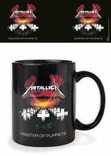 METALLICA MASTER OF PUPPETS MUG GIFT BOXED NEW 100 % OFFICIAL MERCHANDISE