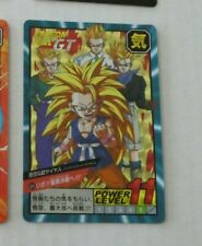 DRAGON BALL Z GT DBZ BEST SELECTION CARDDASS CARD 30TH PRISM CARTE 804 JAPAN M