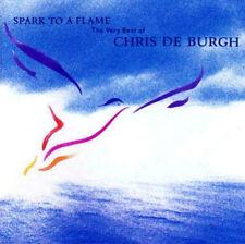 CHRIS DE BURGH SPARK TO A FLAME CD Album EX/EX/MINT *