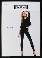 f5c9c135f6c Wolford Velvet Leggings Black Size 36 UK 8