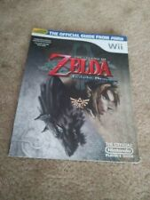 NICE w/POSTER ATTACHED! Zelda Twighlight Princess Nintendo Power Player's Guide