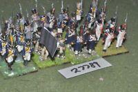 25mm napoleonic / french - regiment (plastic) 32 figures - inf (27789)