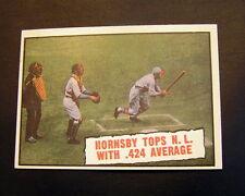 * 1961 Topps Roger Hornsby #404 Baseball Card *