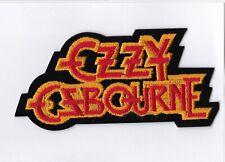 Ozzy Osbourne - Logo - Iron On or Sew On Patch
