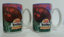 2X - 1996 TOSTITOS FIESTA BOWL NEBRASKA HUSKERS NATIONAL CHAMPIONS PAIR OF MUGS