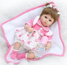 42CM Bambole Hot Sale Lifelike Silicone Reborn Baby Doll Playmat Regalo Natale