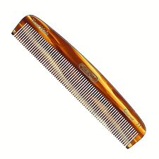 UNISEX 139MM FINE TOOTHED POCKET HAIR & BEARD COMB KENT BRUSHES HANDMADE CRAFTED