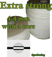 Extra Strong Braided Cord Polyester Core 4.4mm Knitted  Washing Clothes Line