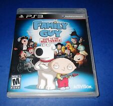 Family Guy Back to the Multiverse PS3 Brand New (Torn Packaging)