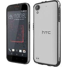 Étuis, housses et coques noir transparent pour téléphone mobile et assistant personnel (PDA) HTC