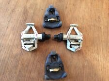 Time RXS Road Pedals Full Package With Cleats, and screws little used