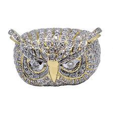 10k Yellow Gold Men's F Vs1 Diamond Ring