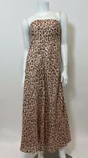 Zimmermann Melody Strapless Maxi Dress in Leopard Size 0/XS $590