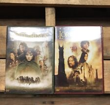 The Lord Of The Rings-Fellowship Of The Ring + The Two Towers Fullscreen DVD