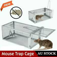 Au Mouse Rat Trap Cage Small Live Animal Pest Rodent Control Bait Catch
