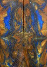 "Blue & Gold Acrylester #50 (2 pc) Razor Knife Scales 3/16"" x 2"" x 6"" - (9)"