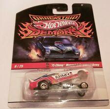 Hot Wheels 75 Chevy Monza F/C Snake Army Drag Strip Demons Chevrolet Car