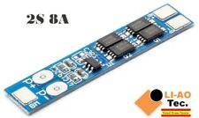 2S 7.4V 8A Li-ion 18650 Lithium Battery Charger Protection Board 8.4V BMS PCM