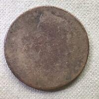 1787 Connecticut Colonial Copper Token #7855