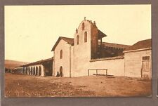 VINTAGE POSTCARD UNUSED MISSION SANTA INES CALIFORNIA