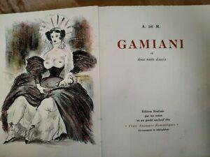 Curiosa-De Musset-Gamiani ou deux nuits d'excès-1940-Planches couleurs