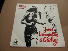 "COUNTRY JOE McDONALD * JOURS TRANQUILLES A CLICHY * 7"" SINGLE FRANCE 1970 EX/EX"
