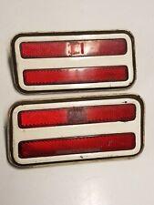 PAIR oem 1970-1981 Trans Am Firebird Side Marker Light Blinker Light Lens