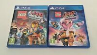 The LEGO Movie 1 & 2 Games Bundle - Playstation 4 PS4 - TESTED/WORKING