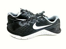 Nike Women's Metcon 3 Low-Top Trainer Black Shoes 849807 001,US Size 9,New