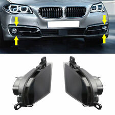Pair Fog Light Lamp Housing Lens L+R For BMW E60 E61 LCI 550i 535xi 2008-2010