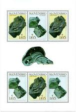SLOVAKIA/2018, (Mini Sheet) Nature Protection: Slovak Minerals, MNH